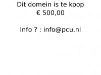 Pcu.nl - STRATO - Domain reserved