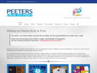 Peeters Druk & Print – Als kleuren je aanspreken word je vanzelf stil