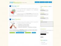 PHPResource Webdevelopment
