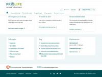 Pro Life - Christelijke zorgverzekeraar
