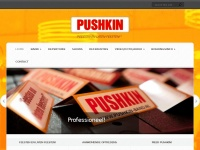 Pushkin-band.nl - Push it! | Strak, energiek, knallen