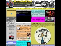 Website van Sixtiesband The Rabbits