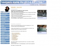 Seegershalle.nl - Machineverhuur, Aanhangwagen, Paardentrailer - Seegers Halle