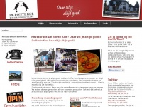 Restaurant Garderen - Restaurant De Bonte Koe