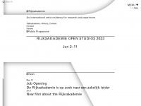 rijksakademie.nl