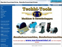 Bandschuurmachines / Machinewinkel / Techbi-Tools