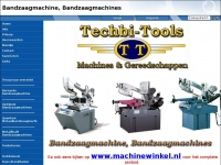 Bandzaagmachine / Machinewinkel / Techbi-Tools