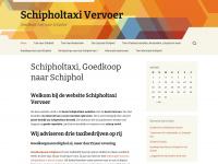 Schipholtaxi, Goedkoop naar Schiphol - Schipholtaxi Vervoer