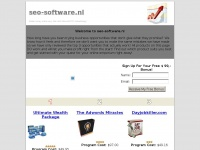 Seo-software.nl - Make good money online with adwords miracles, ultimate wealth package and Dayjobkiller - EliteSEO