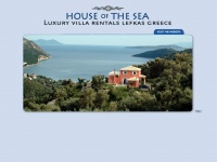 Houseofthesea.com - Extremely beautiful, luxurious Lefkada villa rental