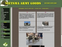 Sietsma-armygoods.nl - SIETSMA ARMY GOODS