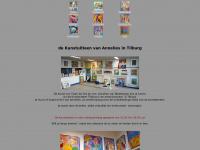 Kunstuitleen Tilburg en kunstuitleen Wageningen waar schilderijen, zeefdrukken, beelden en linosnedes te huur en te koop zijn