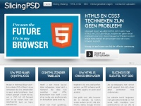Slicingpsd.nl - PSD naar HTML - Slicing naar Responsive HTML door experts