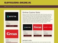 Slotscasino-online.nl - Slots spelen in het online casino,  met kans op een mega jackpot.