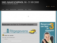 Snelnaarschiphol.nl - Taxivervoer van en naar Schiphol | betrouwbaar en goede service