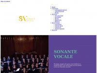 Sonante Vocale – Vocaal Ensemble Sonante Vocale