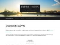 Sonusvita.nl - Ensemble Sonus Vita