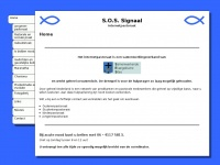 Sos-signaal.nl - Refreshing to welcome page...