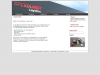 Speedliner.nl - Transport, distributie en warehousing - Speedliner Logistics B.V