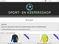 Sport-enkeepersshop.nl - WELKOM | SPORT- EN KEEPERSSHOP