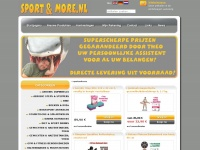 Welcome to sportandmore.nl the online-shop for free people!