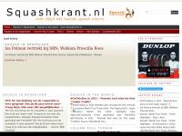 Squashkrant.nl  » met altijd het laatste squash nieuws
