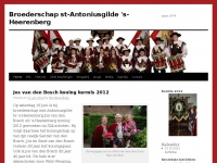 Broederschap st-Antoniusgilde 's-Heerenberg | anno 1574