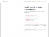 Welkom bij Steppendoejezo... voor wie het aandurft zonder pedalen! - Welkom op mijn persoonlijke site over wedstrijdsteppen