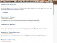 Stichtingwittetulp.nl - Stichting Witte Tulp - Weeft de toekomst!