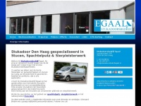 Stukadoorsbedrijf Egaal uw Stukadoor Den Haag e.o.