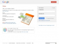 Google Sites: inloggen