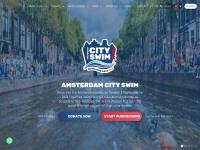 2019 meter zwemmen in de Amsterdamse grachten voor ALS
