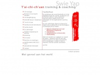 Swieyap.nl - Swie Yap | Tai Chi Training en Coaching