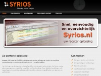 Syrios.nl - Syrios planning en rooster software