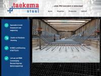 Taekemastaal.nl - Welkom - Taekema Staal | sinds 1952 ijzersterk in betonstaal!