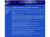 Tcpo.nl - TCPO cursus nlp training communicatie bewustwording persoonlijke ontwikkeling