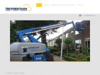 TDverhuur.nl verhuur van grondverzet, machines, aggregaten, overige machines en toebehoren