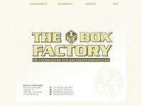 Theboxfactory.nl - Currently under construction (503 Error) | Folat.eu