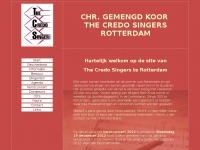 Thecredosingers.nl - The Credosingers - Rotterdam