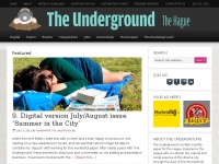 Theunderground.nl - The Underground . The most dynamic international paper in The Hague