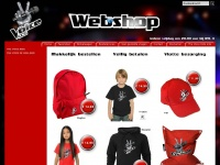 Thevoiceofhollandwebshop.nl - The voice of Holland webshop