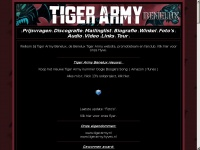 Tigerarmy - Mode & Lifestyle website