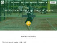 Home - TOC Tennisvereniging Oosterpark Capelle