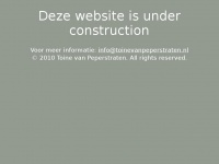 Toinevanpeperstraten.nl - Web Server's Default Page