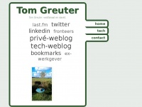 tom greuter - freelance front-end web developer