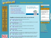 Gratis.nl - Gratis producten, gratis dingen, gratis artikelen, gratis spullen