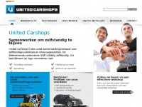 Unitedcarshops.nl - United Carshops Home page