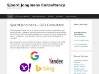 Freelance SEO specialist - Sjoerd Jongmans Consultancy