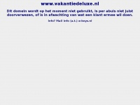 Vakantiedeluxe.nl - SiteGround Web Hosting Server Default Page