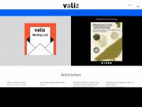 Valiz, boeken, culturele projecten, kunst, theorie, architectuur en ontwerp